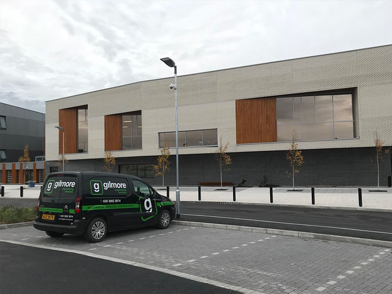 Mot Centre Newry >> Newry Leisure Centre Phase 2 Extension Gilmore Engineering